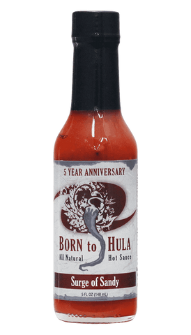 Born to Hula - Surge of Sandy Hot Sauce 5oz