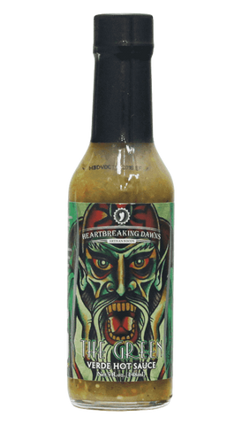 Hot Sauce Willie's - Heartbreaking Dawns The Green Verde Hot Sauce 5oz
