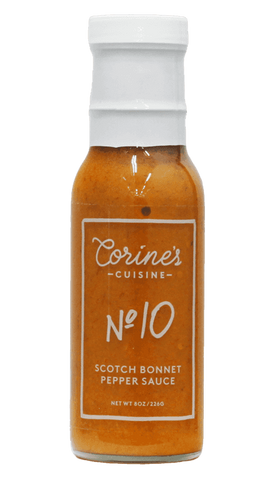 Corine's - No. 10 - Scotch Bonnet Pepper Sauce 8oz