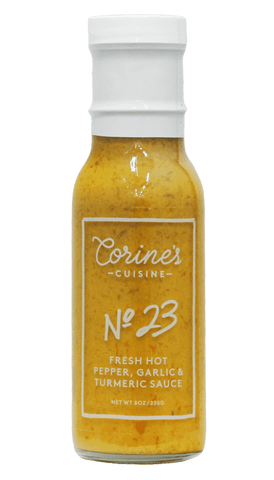 Corine's - No. 23 - Fresh Hot Pepper, Garlic & Turmeric Sauce 8oz