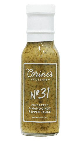 Corine's - No. 31 - Pineapple & Mango Hot Pepper Sauce 8oz