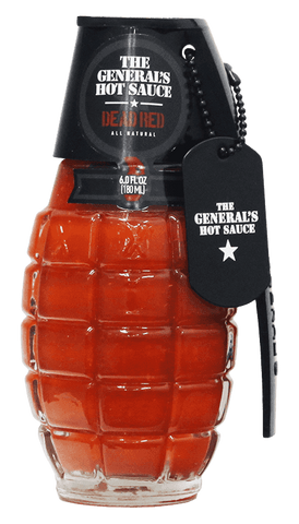 The General's - Dead Red Hot Sauce 6oz