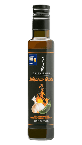 Calivirgin Jalapeno Garlic Olive Oil - 250 ML