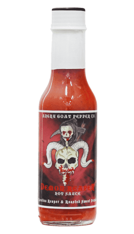 Angry Goat Pepper Co. Demon Reaper Hot Sauce 5oz