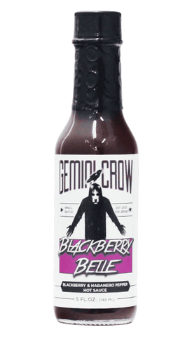 Gemini Crow - Blackberry Belle Hot Sauce 5oz - Hot Sauce Willie's