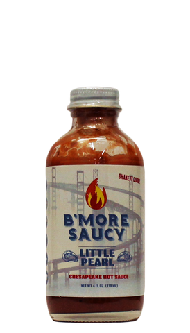 Hot Sauce Willie's - B'More Saucy - Little Pearl Hot Sauce 4oz