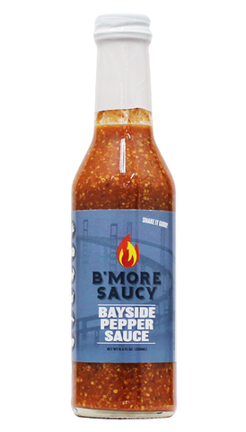 Hot Sauce Willie's - B'More Saucy - Bayside Pepper Sauce 8.5 oz