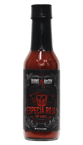 Burns & McCoy Especia Roja Hot Sauce 5oz