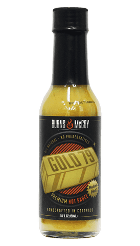 Burns & McCoy Gold Seventy-Nine Hot Sauce 5oz