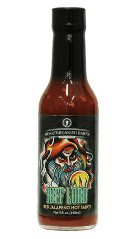Hot Sauce Willie's  - Heartbreaking Dawn's - Riff Lord - Red Jalapeno Hot Sauce