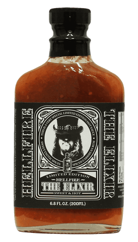 Hellfire - Limited Edition The Elixir Hot Sauce 6.8oz - Hot Sauce Willie's