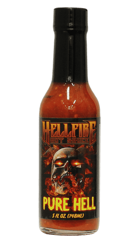 Hellfire - Pure Hell Hot Sauce 5oz - Hot Sauce Willie's