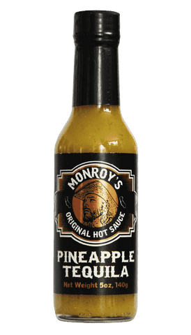 Hot Sauce Willie's - Monroy's - Pineapple Tequila Hot Sauce 5oz
