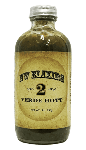 NW Elixirs Verde Hott Sauce #2 – 8.8oz - Hot Sauce Willie's