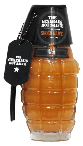 The General's - Shock and Awe Hot Sauce 6oz
