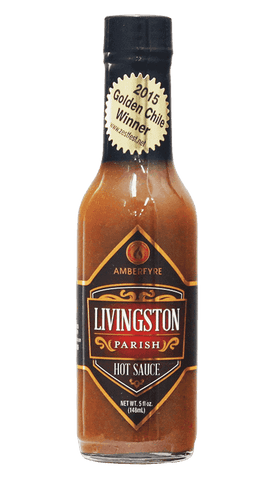 AmberFyre - Livingston Parish Hot Sauce 5oz