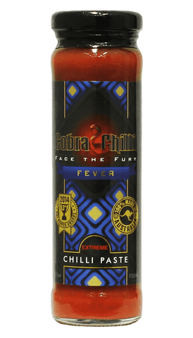 Cobra Chilli - Chilli Paste Extreme 5.1oz - Hot Sauce Willie's