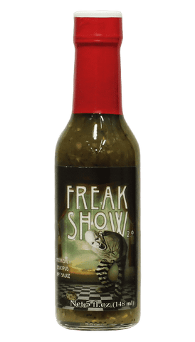Voodoo Chile Sauces - Freak Show Hot Sauce 5oz