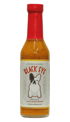 World Famous - Black Eye Scotch Bonnet Mustard 8oz