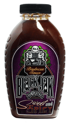 Jak Jeckel Sweet and Spicy BBQ Sauce 16oz - Hot Sauce Willie's