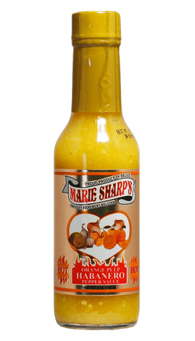 Marie Sharp's Orange Pulp Habanero Pepper Sauce 5oz - Hot Sauce Willie's