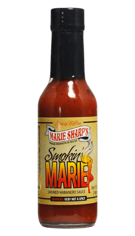 Marie Sharp's Smokin Marie Pepper Sauce 5oz - Hot Sauce Willie's