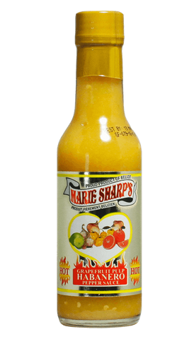 Marie Sharp's Grapefruit Pulp Habanero Pepper Sauce 5oz - Hot Sauce Willie's