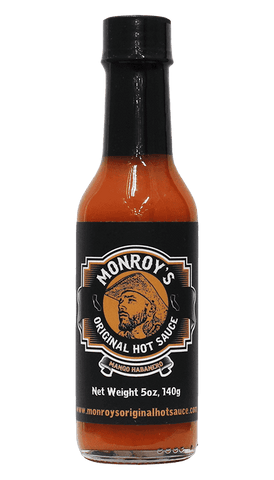 Hot Sauce Willie's - Monroy's Original Hot Sauce - Mango Habanero 5oz