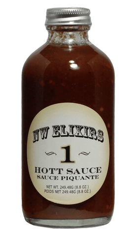 NW Elixirs Hot Sauce #1 - 8.8oz - Hot Sauce Willie's