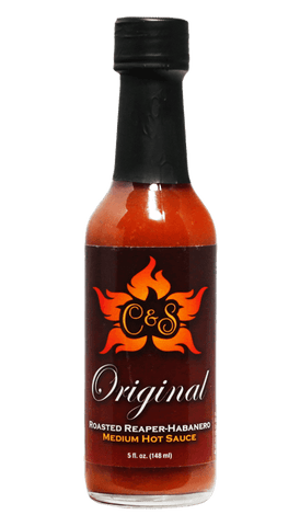 Chicks & Salsa Original Roasted Reaper-Habanero Medium Hot Sauce 5oz - Hot Sauce Willie's