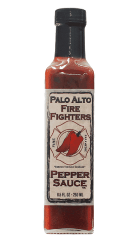 Palo Alto Fire Fighters Original Pepper Sauce 8.5oz
