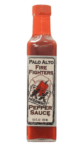 Palo Alto Fire Fighters XX Habanero Pepper Sauce 8.5oz