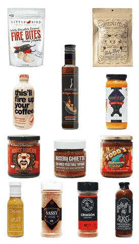 Hot Sauce Willie's - THE FOODIE COLLECTION BBQ HOT SAUCE GIFT PACK