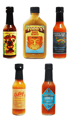 Hot Sauce Willie's - TIKI INSPIRED HOT SAUCE GIFT COLLECTION
