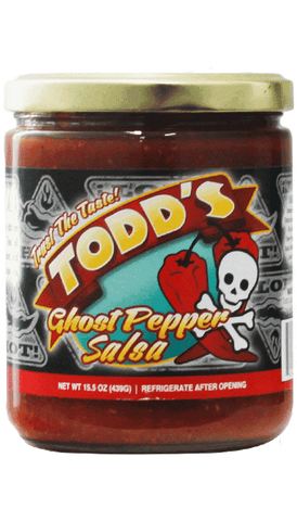 Todd's Ghost Pepper Salsa 15.5oz