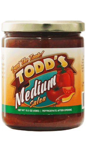 Todd's Medium Salsa 15.5oz