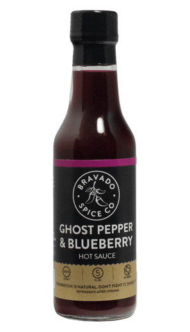 Bravado Spice Ghost Pepper & Blueberry Hot Sauce 5oz - Hot Sauce Willie's