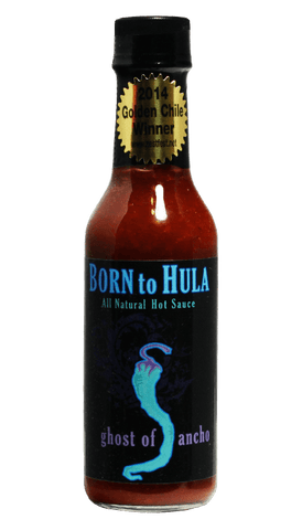 Born to Hula Ghost of Ancho Hot Sauce 5oz - Hot Sauce Willie's