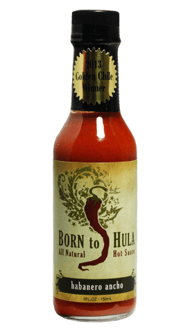 Born to Hula Habanero Ancho Hot Sauce 5oz - Hot Sauce Willie's