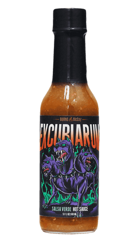 Burns & McCoy Excubiarum Verde Hot Sauce 5oz