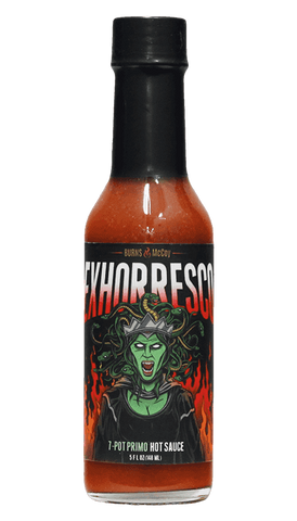 Burns & McCoy Exhorresco 7 Pot Primo Hot Sauce 5oz