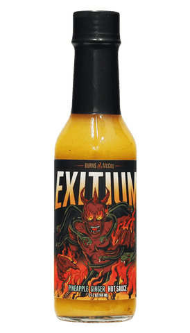 Burns & McCoy Exitium Pineapple Ginger Hot Sauce 5oz