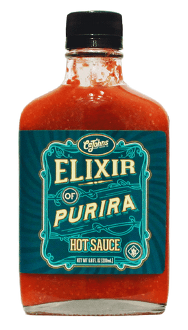 CaJohns Elixir of Purira Hot Sauce 6.8oz - Hot Sauce Willie's