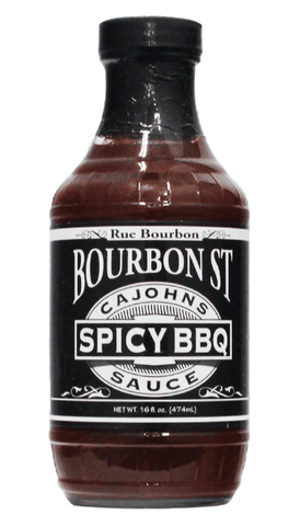 CaJohns Bourbon Street Spicy BBQ 16oz - Hot Sauce Willie's