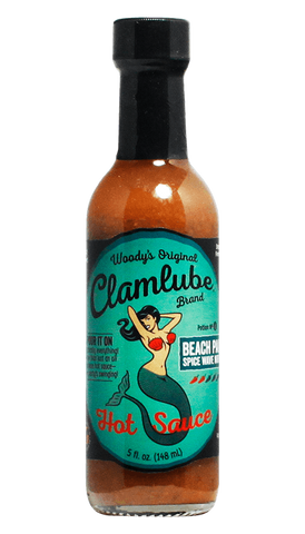 Woody's Original Clamlube Brand Beach Party - Spice Wave Nirvana - Hot Sauce Willie's