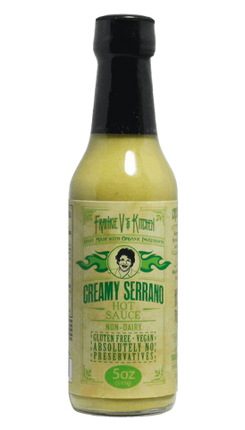 Frankie V's Kitchen Creamy Serrano 5oz - Hot Sauce Willie's