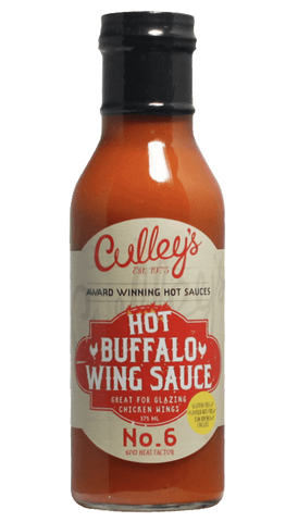 Culley's Hot Buffalo Wing Sauce 12oz - Hot Sauce Willie's