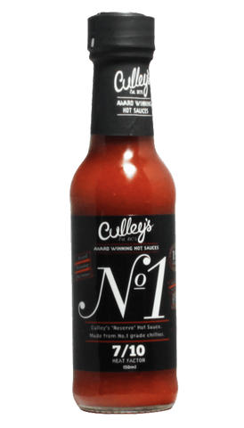 Culley's No.1 Hot Sauce 5oz - Hot Sauce Willie's