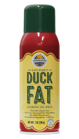 Cornhusker Kitchen's Gourmet Duck Fat Spray 7oz