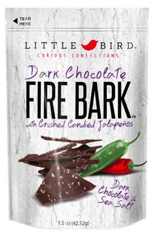 Little Bird Fire Bark Dark Chocolate 1.5oz - Hot Sauce Willie's